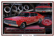 1966 66 Dodge Charger Poster Print