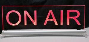 ON AIR LED Leuchtschild oder dein Text personalisiert Radio TV stream live onair