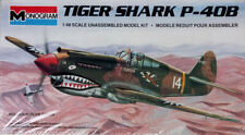 "Monogram 1:48 Curtiss P-40B ""Tigershark"". kit nr. 5209"