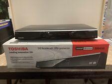 Toshiba DR430KU DVD Recorder/Player Bundle Remote New Open Box 1080p