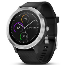 Garmin Vivoactive 3 GPS Smart Watch Fitness Tracker Black/Stainless 010-01769-01