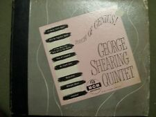 GEORGE SHEARING QUINTET TOUCH OF GENIUS! 78 BOX SET 4 REC. MGM RECORDS M-G-M 90