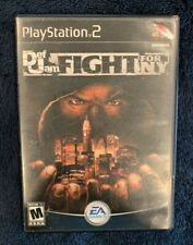 Def Jam: Fight for NY PS2 (PlayStation 2, 2004) AUTHENTIC! RARE! CIB! TESTED!