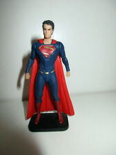 figurine super heros dc comics man of steel superman (9x5cm)