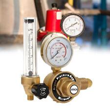 AR Argon CO2 Mig Tig Flow Meter Welder Welding Regulator Gauge Gas Welder New