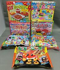 Kracie DIY kit Happy Kitchen popin cookin Japanese candy lot of 7 Japan foods