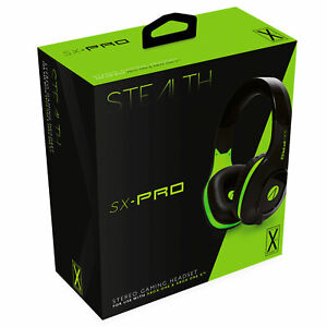 Official Stealth XBOX ONE Gaming Headset Wired SX PRO NEW & SEALED