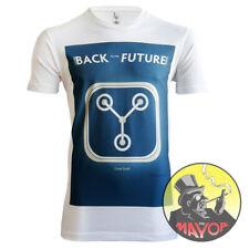 Premium Quality Retro Back To The Future Mens Womens Unisex Organic T-Shirt