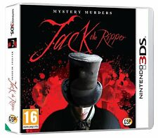 Mystère meurtres-Jack the Ripper pour uk / eu 3DS (new & sealed)