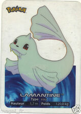 Pokemon lamincards n° 087 - LAMANTINE (A2955)