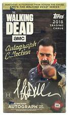 THE WALKING DEAD AUTOGRAPH COLLECTION HOBBY BOX (TOPPS 2018) SEALED NEW