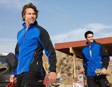 Englebert Strauss Softshell Jacket dryplexx® softlight Royal/Black Medium New!