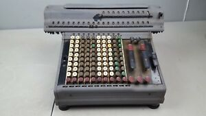 rare vintage 1930s Marchant Calculating Machine for parts or decoration