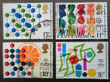 GREAT BRITAIN #806-809 used 1977 chemistry set. We combine shipping
