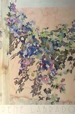 CLEMATIS a Canyon Road-RENE lobrado stampa, 91 x61cm, Vintage Floreale POSTER