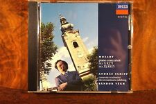 Mozart - Piano Concerto K271 & K415, Schiff, Vegh (1990) CD Germany, Very Good