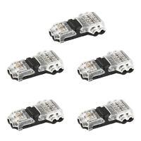 5PCS 2Pin LED Verbinder Adapter Zubehör Kabel Für 3528 5050 LED Leiste Streifen