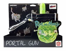 NYCC Exclusive 2017 Rick and Morty Portal Gun CHROME New York Comic Con IN HAND