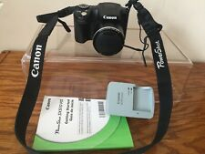 CANON POWER SHOT SX510 HS ZOOM LENS 30X IS DIGITAL CAMERA WITH CASE