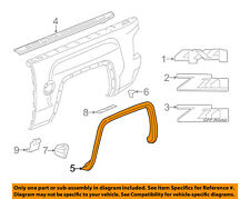 GMC GM OEM Bed-Wheel Fender Flare Arch Opening Molding Right 22775553