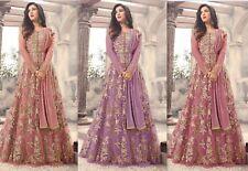 Designer anarkali salwar kameez suit ethnic Bollywood pakistani dupatta party sO