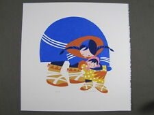 Rie Munoz Signed/Numbered Limited Edition Serigraph- Walking 133/595