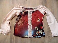 TOGSZONE schönes buntes Langarmshirt rosa bunt Gr. 98 w. NEU  ST817