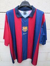 VINTAGE Maillot BARCELONE BARCELONA Nike camiseta Barça shirt XXL