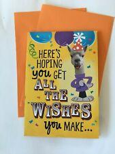 Hallmark Birthday Card ~ MUSIC + POP UP ROCKIN CUPCAKE BIRTHDAY ~ LLama