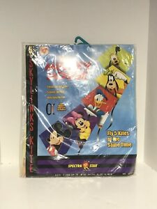 2000 Vintage Disney Kite Mickey Mouse Red Spectra Star Toy Biz Deadstock