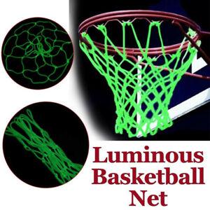 Luminous Outdoor Basketball Hoop Net Goal Rim Glow in The Dark Night Training US