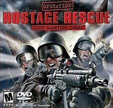 OPERATION HOSTAGE RESCUE Shooter PC Game XP-Vista NEW