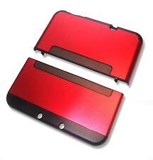 Nintendo *NEW* 3DS XL 3DSXL Crimson Red Aluminium Metal Case Cover Shell Housing