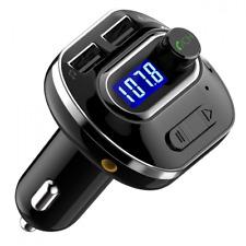 VICTSING Transmisor FM Bluetooth 4.1 para Coche,Mini Manos Libres Emisor,AUX Sal
