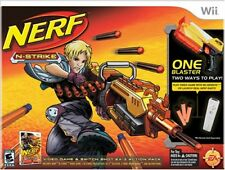 Nerf N Strike Wii with Blaster- Brand New