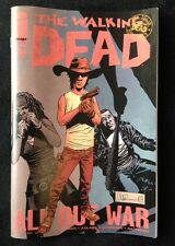 IMAGE COMICS THE WALKING DEAD #126 SIGNED BY CHARLIE ADLARD ALL OUT WAR PT. 12