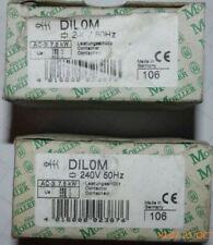 Klockner Moeller Contactor DILOM 240VAC Coil (166) Quantity 2