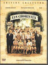 COFFRET DIGIPACK 2 DVD COLLECTOR--LES CHORISTES--JUGNOT/BERLEAND/MERAD/BARRATIER