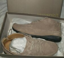 Easy Spirit womens Adagio lace up casual shoes taupe brown 7 wide Esadagio NEW