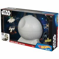 Star Wars Death Star Play Case & 4-pc. Starship Set by Hot Wheels  NIB