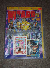 WIZARD COMIC PRICE GUIDE #15 april 1992 WILDCATS & ARCHIE CARD