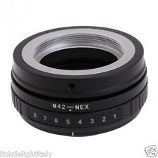 M42-NEX Tilt Adapter for M42 Lens to Sony NEX-3 NEX-5 NEX-7 E Mount Camera
