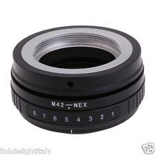 M42-NEX Tilt Adapter for M42 Lens to Sony NEX-3 NEX-5 NEX-7 E Mount Camera