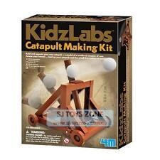 4M KidzLabs Catapult Making Kit Science Building Set Kids Educational Toy