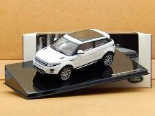 1/43 Range Rover Evoque 3 Door Fuji White by IXO Diecast Model Dealer Edition