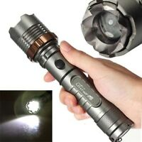 Ultrafire 20000LM Zoomable 5Mode T6 LED Flashlight Torch 18650 Charger Case k