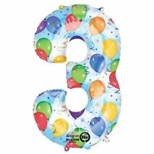 Globos de fiesta color principal multicolor número para todas las ocasiones