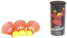 3 x FUN Speeder® Speedminton® Speed Badminton Federball Federbälle