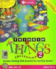 Thinkin' Things Collection 2 Pc Mac Cd learn music rhythm memory shapes kid game