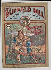 BUFFALO BILL ORIGINAL STORIES n°20. Edition néerlandaise 1925